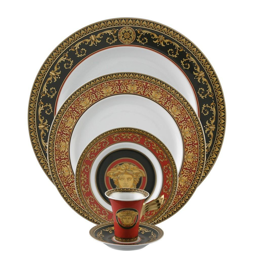 Versace Medusa Red 5 Piece Place Setting 19300-409605-10000