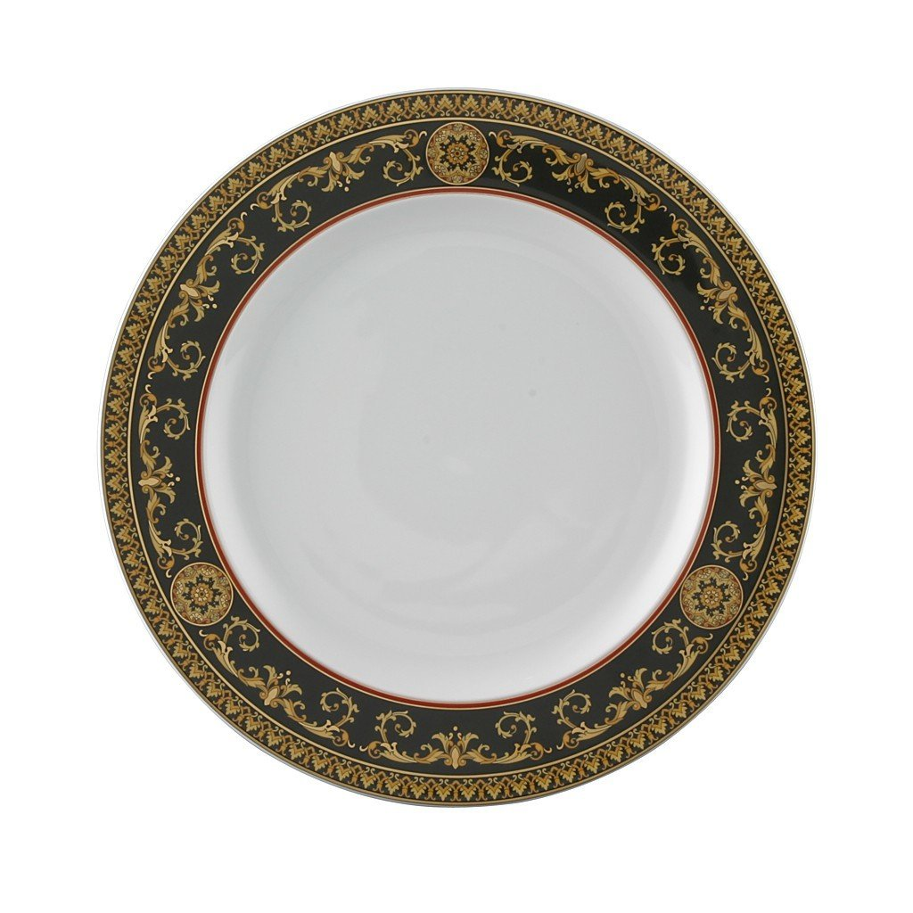 Versace Medusa Red Dinner Plate 10.5 inch 19300-409605-10227