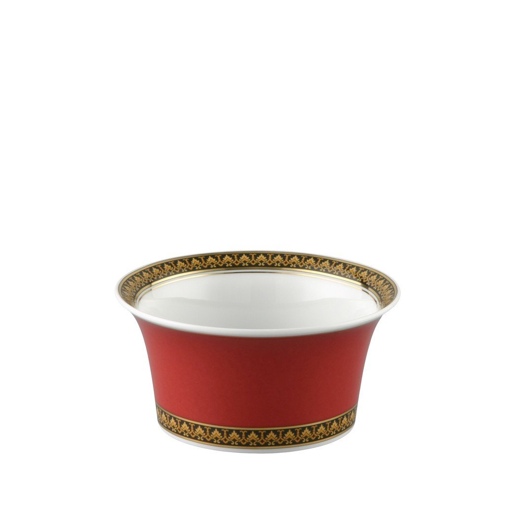 Versace Medusa Red Fruit Dish 4.75 inch 9 ounce 19300-409605-10512