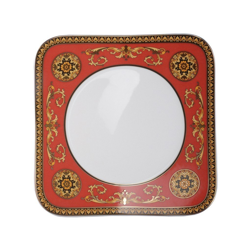 Versace Medusa Red Salad Plate 8.25 inch 19750-409605-16221