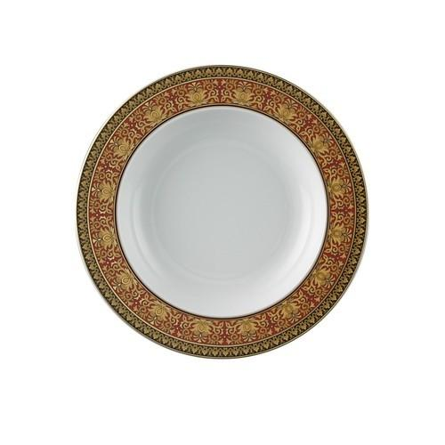 Versace Medusa Red Soup Plates Set 2 pieces 8.5 inch 9300-409605-10002