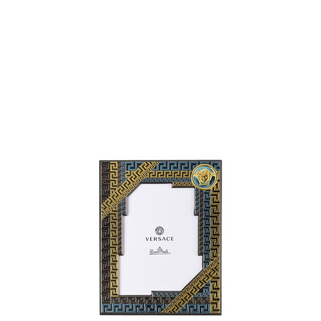 Versace Blue Picture Frame 5 x7 inch 69075-321338-05732