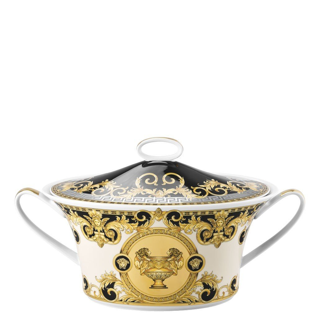 Versace Prestige Gala Vegetable Bowl Covered 10490-403637-11320
