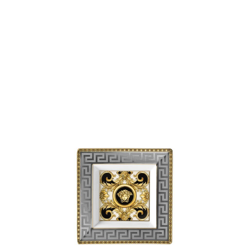 Versace Prestige Gala Tray Porcelain Square 5.5 inch 14085-403637-25814