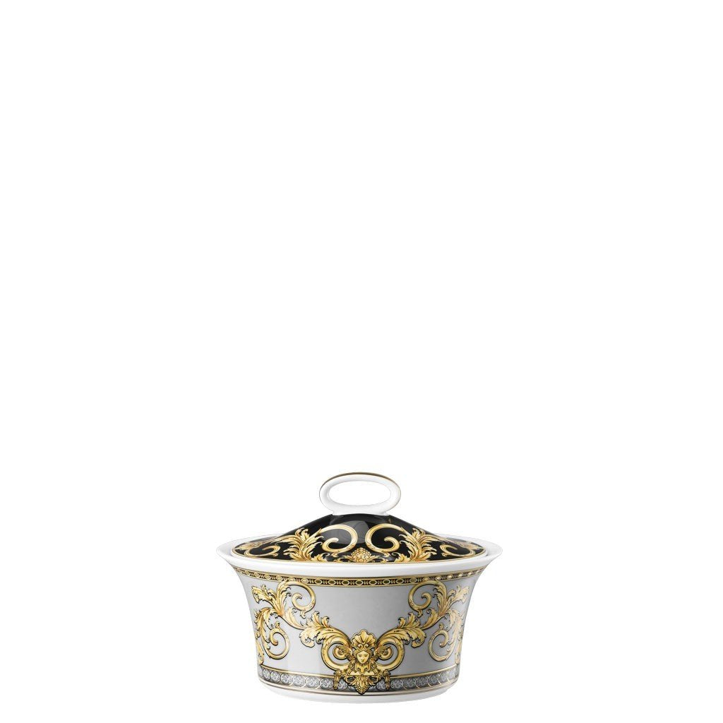 Versace Prestige Gala Sugar Bowl Covered 7 ounce 19315-403637-14330