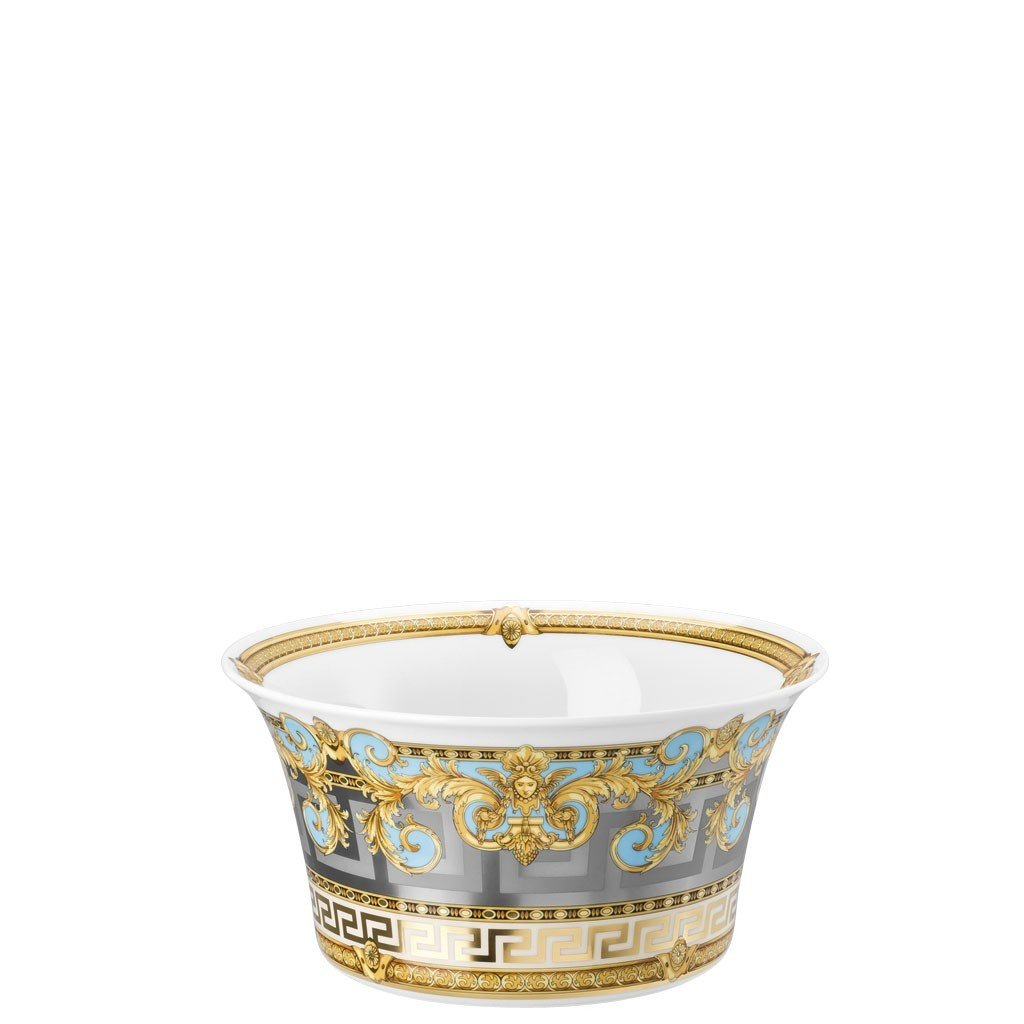 Versace Prestige Gala Le Bleu Vegetable Bowl Open 8 inch 56 ounce 19325-403638-13120