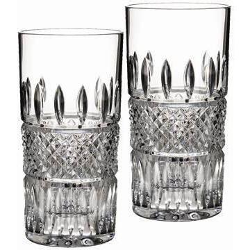 Waterford Crystal Irish Lace Hiball Pair 156768 Biggs Ltd