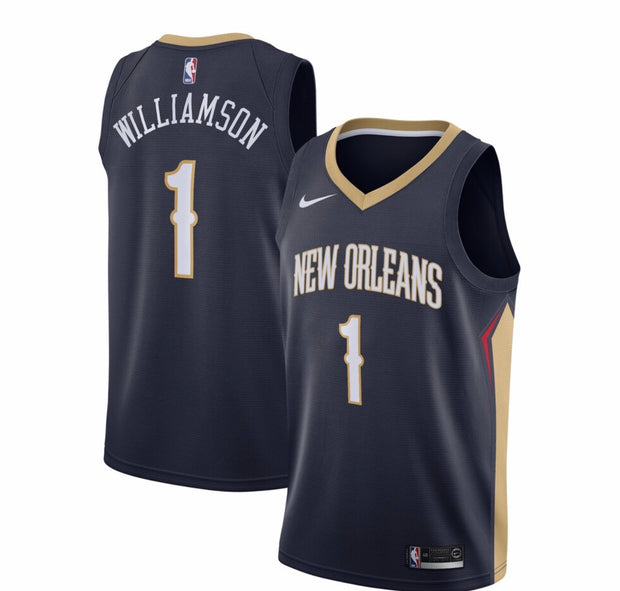 Men's New Orleans Pelicans Zion Williamson