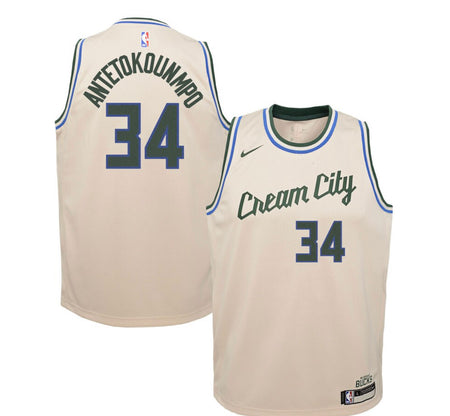Milwaukee Bucks 19-20 City Edition Jersey