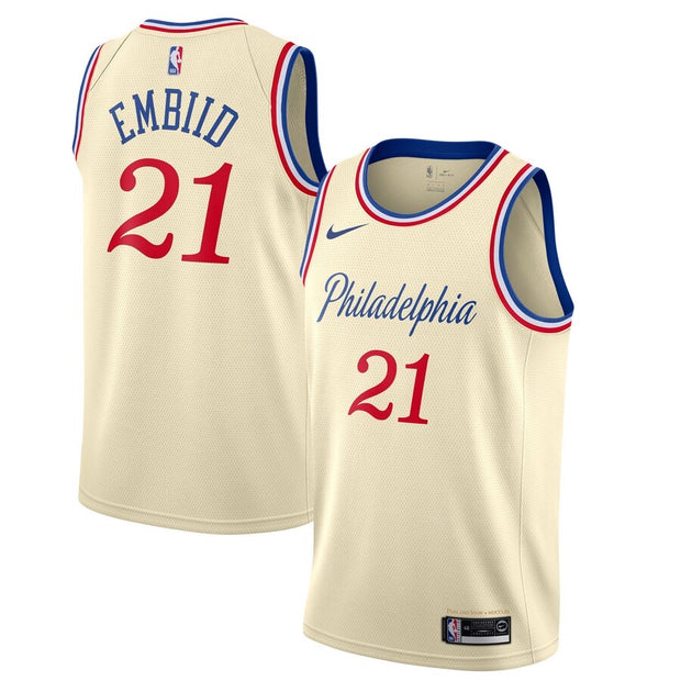 Philadelphia 76ers 19-20 City Edition Jersey