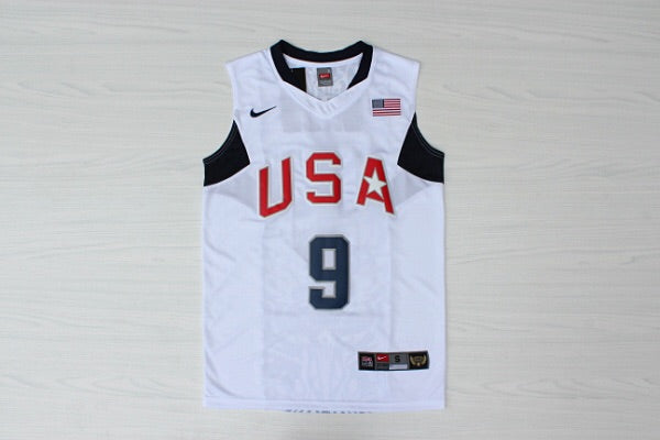 Team USA Basketball Jersey (Home Jersey)