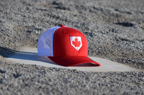 Canada Plate Snap Back Hat