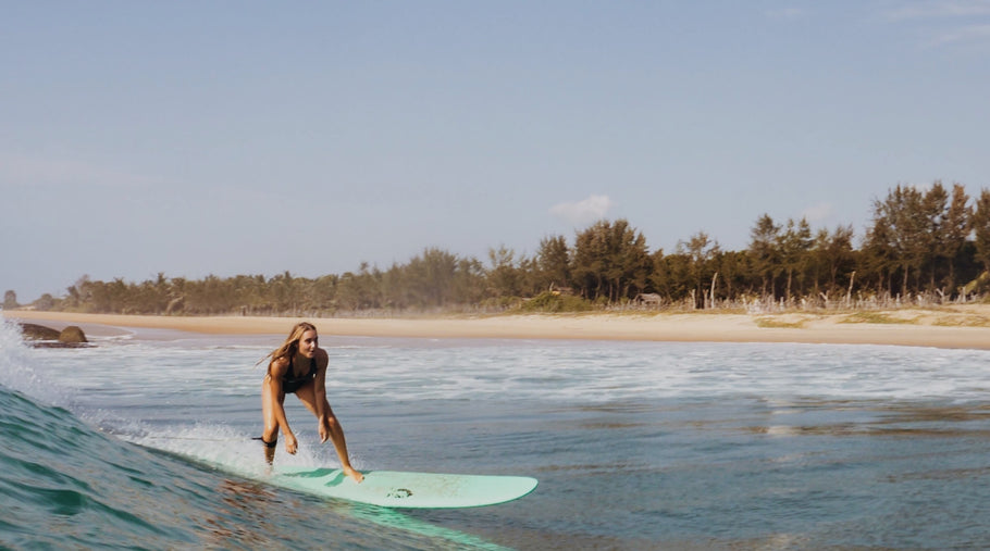 LUCY, 21-Year-Old Beginner Surfer: Blogging From The Mediterranean Sea To Bali