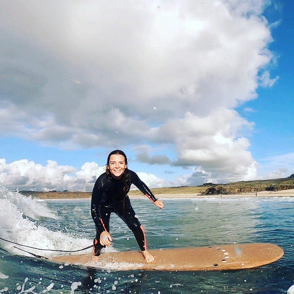 JEANNE, A Bubbly 23-Year-Old Former Water-Phobic And Active Surf Developer