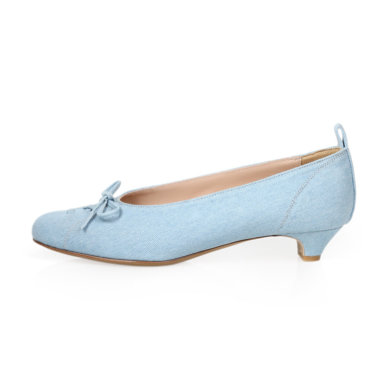 BELLA BALLERINA - Skyblue Denim