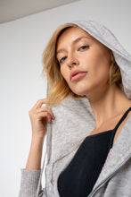 Load image into Gallery viewer, Amelia Zip Up Hoodie | Heather Gray