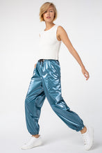 Load image into Gallery viewer, Sara Jogger Pants | Metal Turquoise