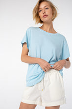 Load image into Gallery viewer, Indah Comfort Fit Tee | Dream Blue