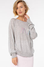 Load image into Gallery viewer, Margret Crew Neck Sweater | Heather Gray