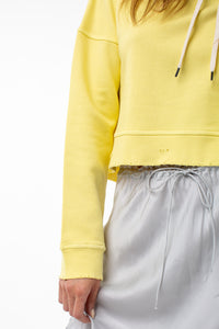 Beatrice Cropped Pull Over | Lemon