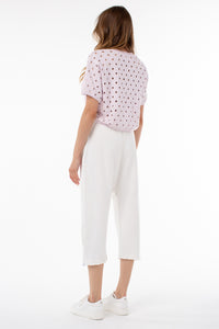 Eleanor Cropped Pull Over | Orchid