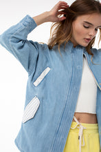 Load image into Gallery viewer, Dominick Military Jacket | Denim