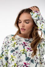 Load image into Gallery viewer, Chloe Sweatshirt | Iris Print