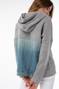 Melody Hoodie | Heather Gray
