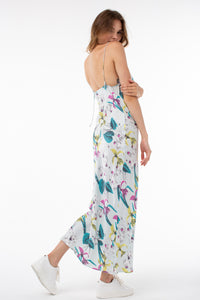 Scarlett Cami Slip Dress | Iris Print