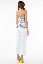 Load image into Gallery viewer, Cora Cowl Neck Cami | Iris Print