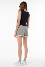 Load image into Gallery viewer, Willow Roll Up Sweat Short | Heather Gray