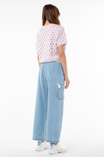 Bluesy Cargo Pant | Denim
