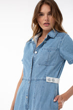 Load image into Gallery viewer, Frazier Boiler Jumpsuit | Denim