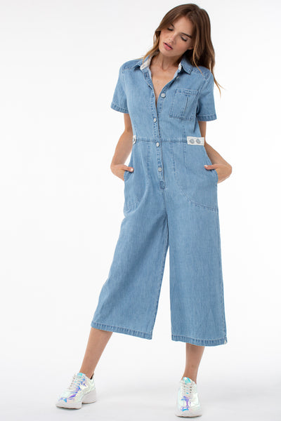 Frazier Boiler Jumpsuit | Denim