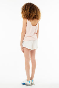 Poppy Knotted Tank | Rosewater