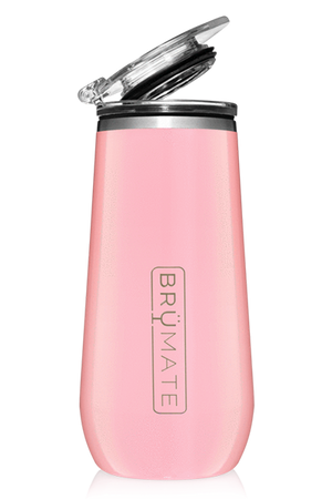 CHAMPAGNE FLUTE by BruMate | Blush