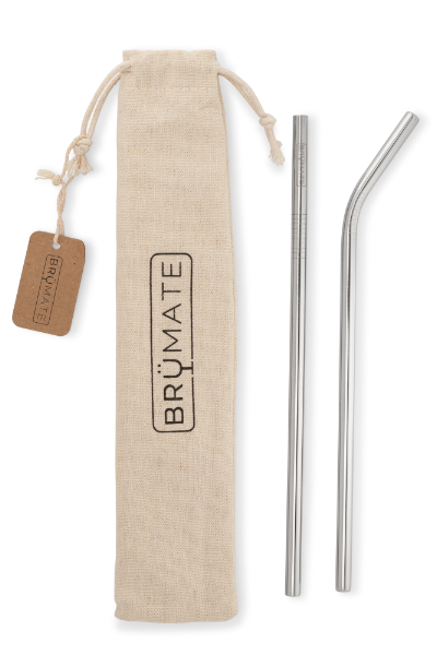 STAINLESS STEEL REUSEABLE IMPERIAL PINT Straws  | Stainless Steel