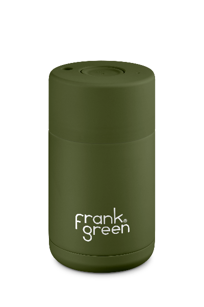 CERAMIC REUSABLE CUP 10oz | Khaki