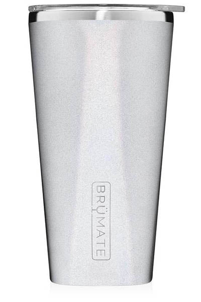 IMPERIAL PINT by BruMate | Glitter White