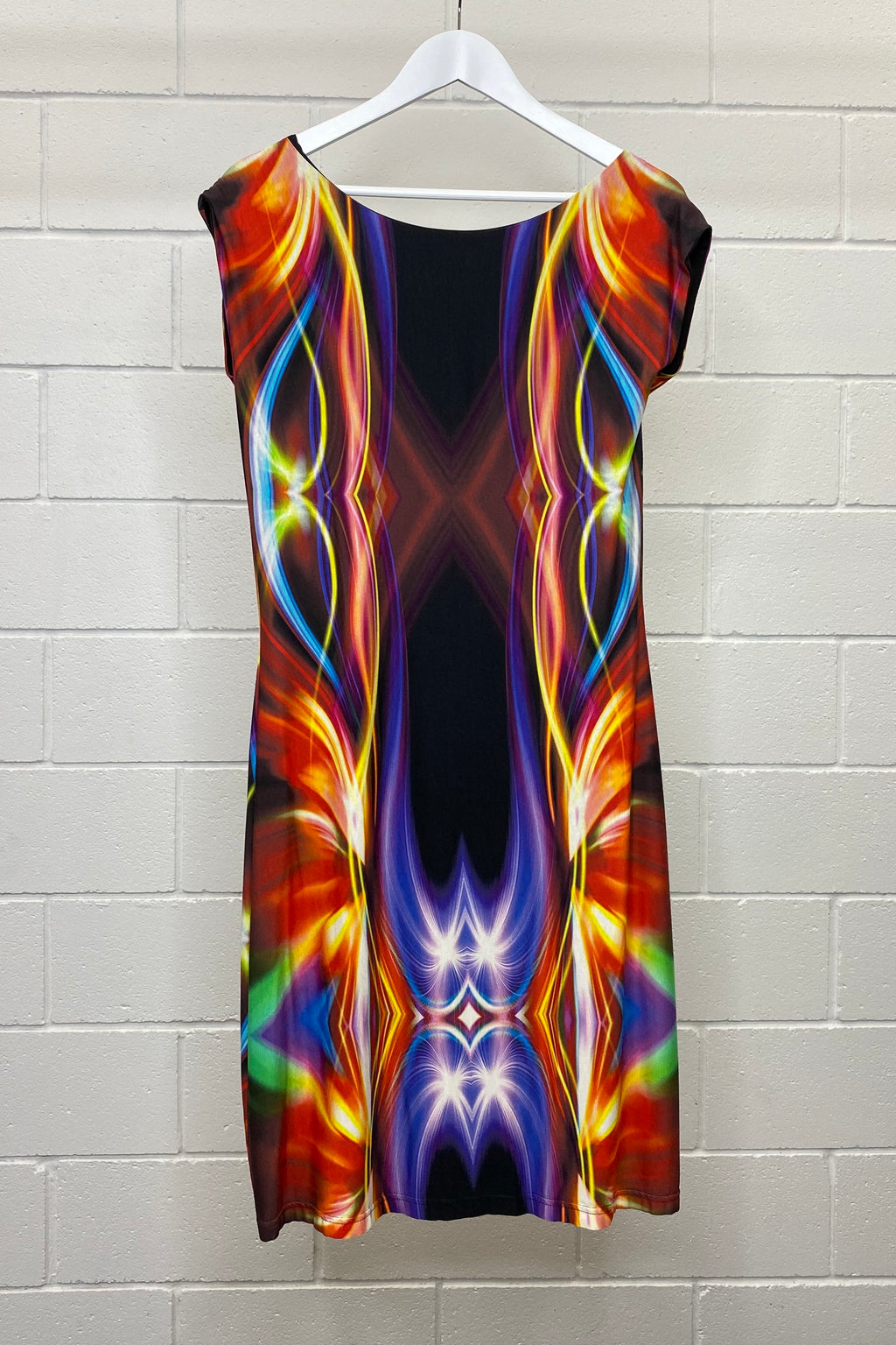 RAINBOW FORM FIT SIZE 14 | DRESS (Preloved)