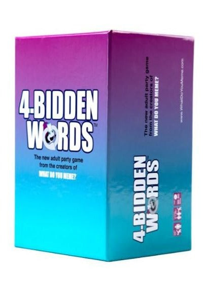 4-Bidden Words | Game