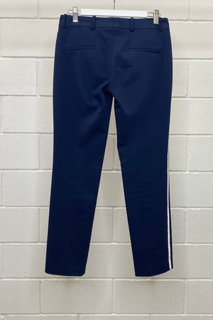NAVY TAILORED FIT SIZE S | Pants (Preloved)