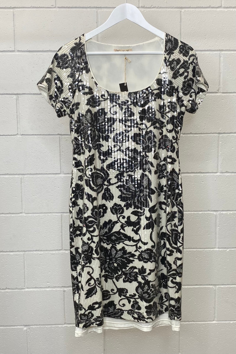 MOSS & SPY SEQUIN SIZE 12 | DRESS (Preloved)