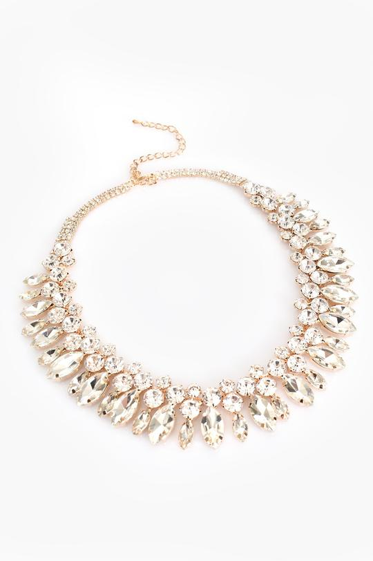 KIARA DIAMANTE JEWEL SHORT | NECKLACE