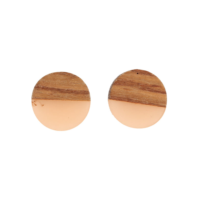 ANTHEA PINK BUTTON | EARRINGS