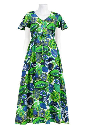 ARIA 'FRUITSALAD KIWI' | DRESS