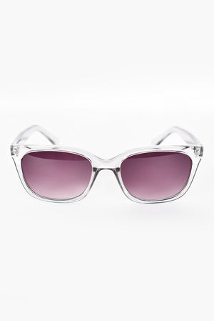 RUNNING AROUND TOWN (CLEAR) | SUNGLASSES