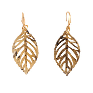 AUTUMN LEAF NATURAL | EARRINGS