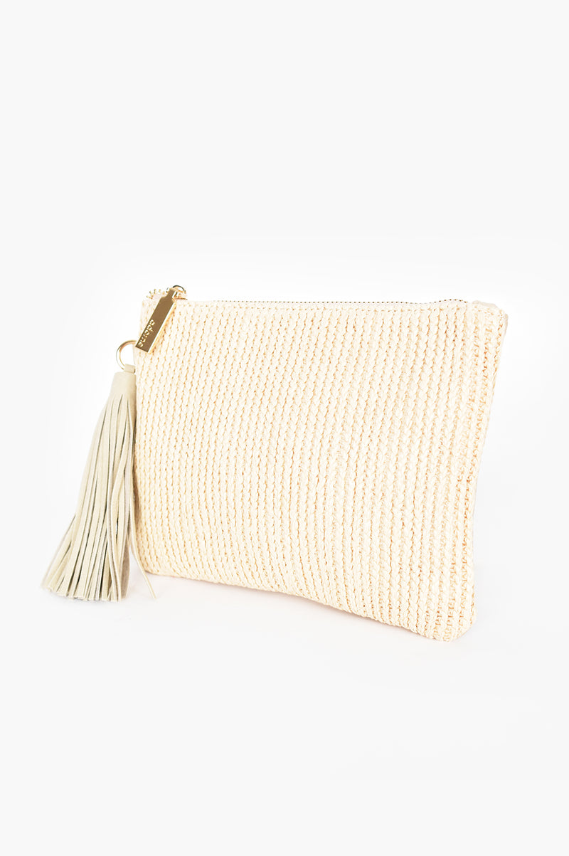 WEAVE FRONT (NATUAL) | CLUTCH