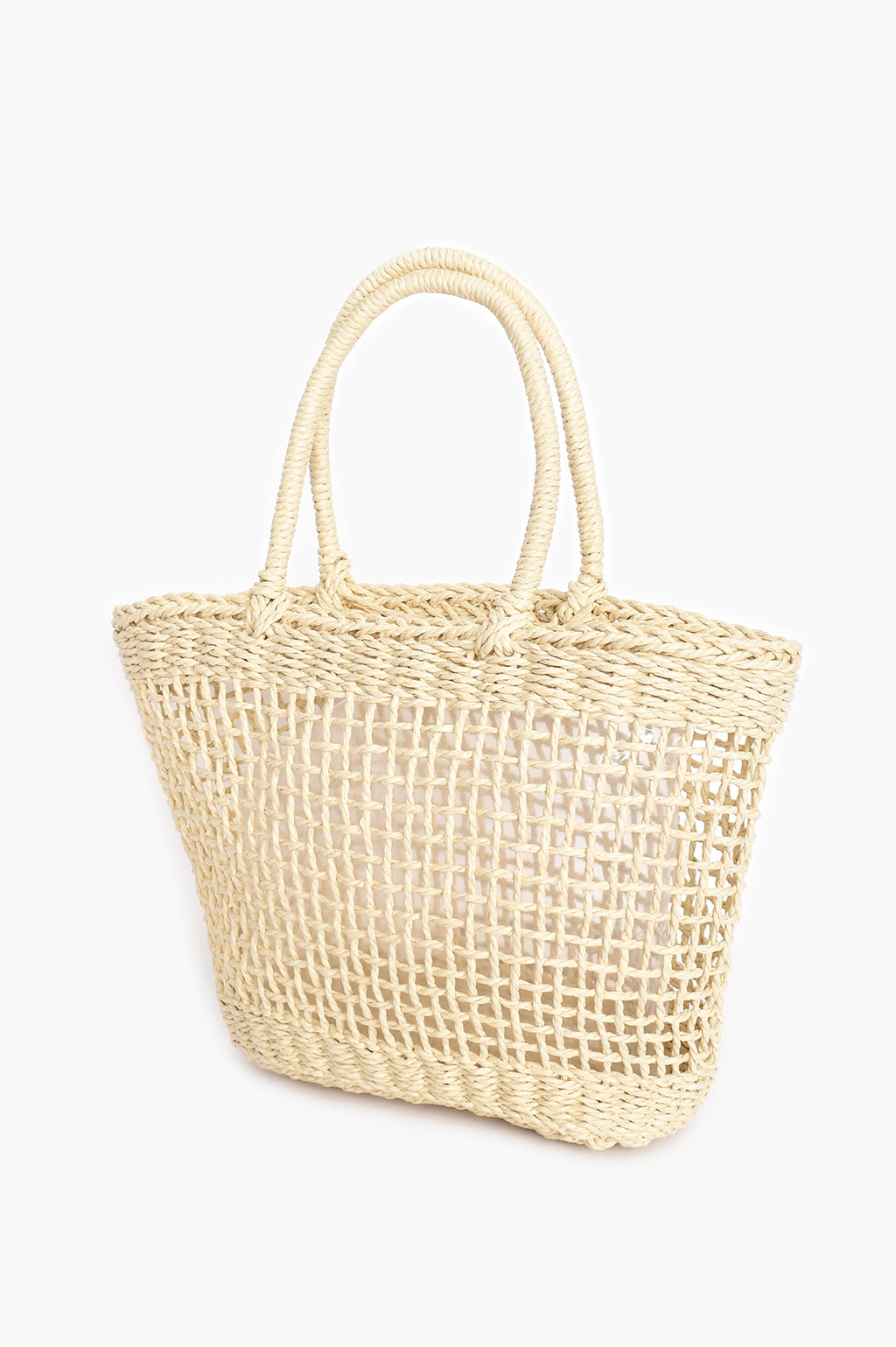 OPEN WEAVE NATURAL | BASKET